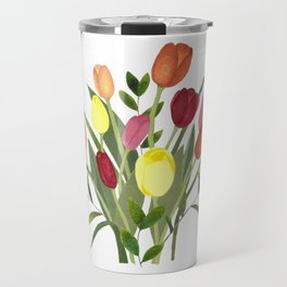 Tulips Travel Mug