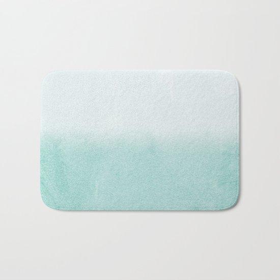 FADING AQUA Bath Mat