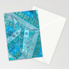Ethnic Tribal Pattern Art N7 Stationery Cards
