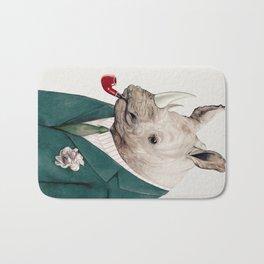 Rhinoceros Bath Mat