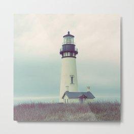 Oregon Lighthouse Metal Print