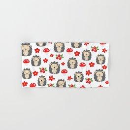 Cute hedgehogs Hand & Bath Towel