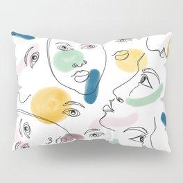 Female Portraits #society6 #figurative Pillow Sham