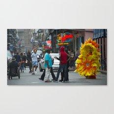Nola Sunflower Canvas Print
