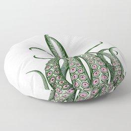 Green fingers Floor Pillow