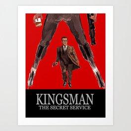 Kingsman: The Secret Service Art Print