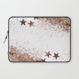 SHAKY STARS ROSEGOLD Laptop Sleeve