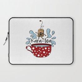 Karate Kara Tea Teabag Present Gift Cup Laptop Sleeve