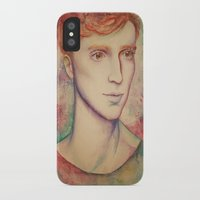 kieren walker iPhone & iPod Cases featuring Kieren II by FlockeInc