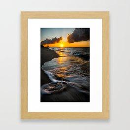 Boracay Sunset Framed Art Print