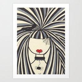Katrina Art Print