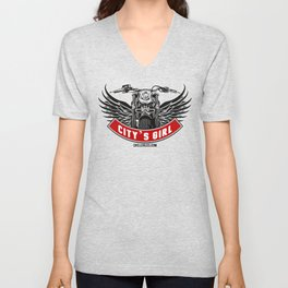 City's Girl Unisex V-Neck