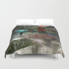 A city without you Duvet Cover