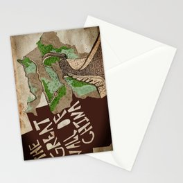 The Great Wall of China  Stationery Cards