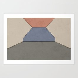 Empty Room no.06 - Lonely Spaces Art Print