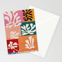 Henri matisse fleur de neige Stationery Cards
