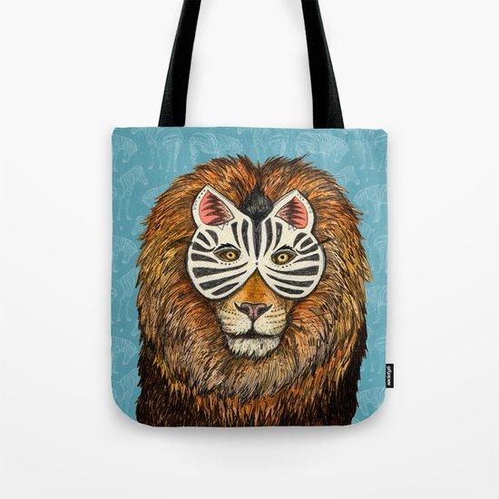 ZebraLion Tote Bag