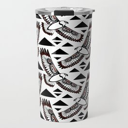 The Hawk's Flight Travel Mug