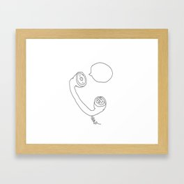 RRRRING Framed Art Print