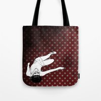 lolita Tote Bags featuring Lolita by Merwizaur