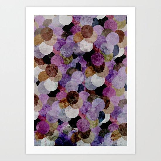 Circles III Art Print