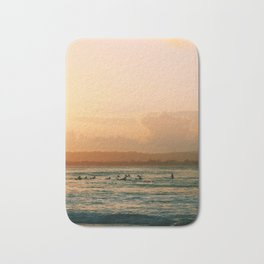 Byron Bay Sunset Surfers Bath Mat
