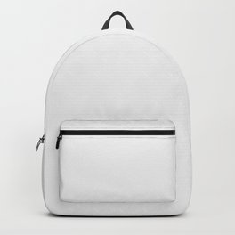 Solid Ghost White Creepy Hollow Halloween Backpack