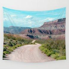 Dirt Road Home (La Verkin, Utah) Wall Tapestry