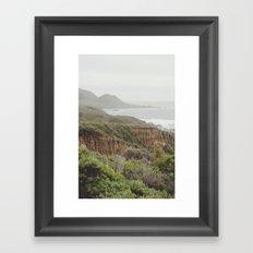 enchanted big sur Framed Art Print