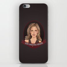 Buffy Summers - Once More with Feeling iPhone & iPod Skin