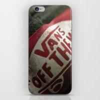 vans iPhone & iPod Skins featuring Vans by Aasyraf