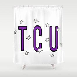 TCU with stars Shower Curtain