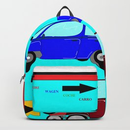Car, Carro, Coche, Voiture, Wagen Backpack