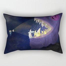 Nero Svenfor: Deep space Monster's dental care Rectangular Pillow