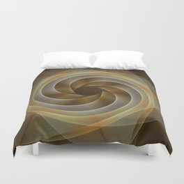 Artistic movement, fractal abstract Duvet Cover