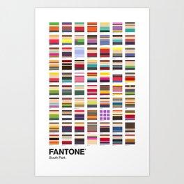 S. Park - FANTONE® Collecton Art Print