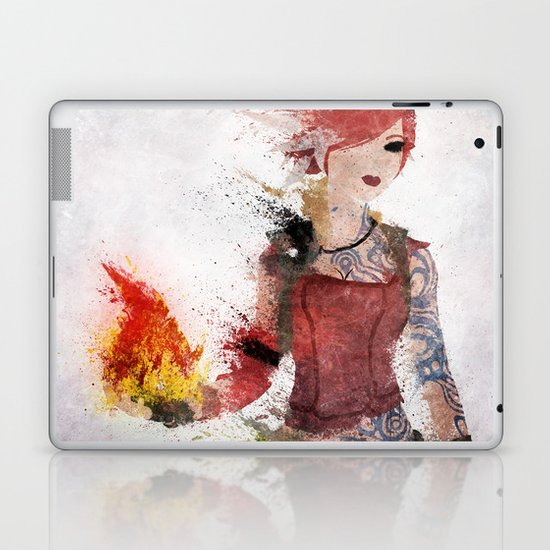 Lilith Laptop & iPad Skin