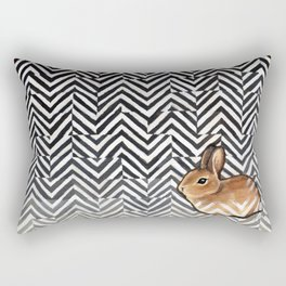 Little Miss Sarah Rectangular Pillow