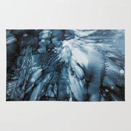 Blue Ocean   Sea Abstract   Nature Art   Painting by Magda Opoka Rug