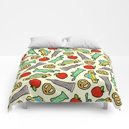 New York, New York Pattern Comforters