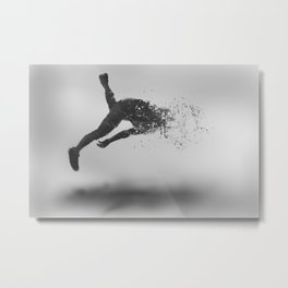 Combustion of Form Metal Print