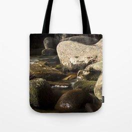 Morning Along Bear River Tote Bag