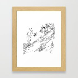 La Chasse aux Mouches / Fly Hunting Framed Art Print