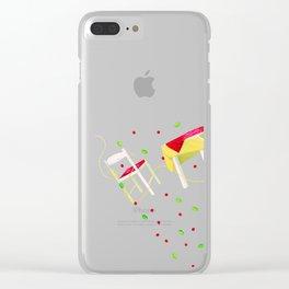Deliciously al Dente Clear iPhone Case