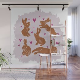 Bunny Love - Easter edition Wall Mural