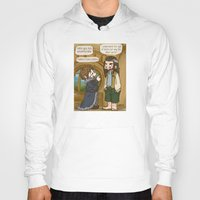 thorin Hoodies featuring Thorin the Exchange Hobbit by BlacksSideshow