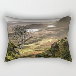 Washed with sunlight. Rectangular Pillow