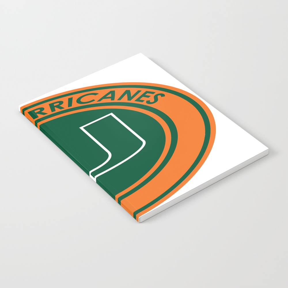 Hurricanes Of Miami Notebook by Spacestuffplus NBK7979166