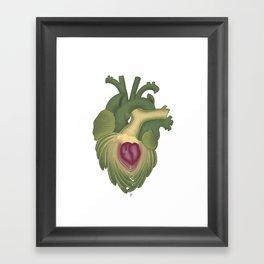 Cor, cordis (artichoke heart) Framed Art Print