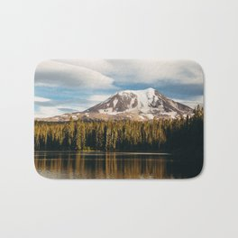 Mount Adams from Takhlakh Lake Bath Mat